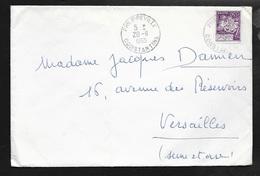 Algérie  Lettre De Philippeville Le 20/11/1965 Pour Versailles Avec Le N°394  B/TB - Algeria (1962-...)