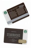 Starbucks Card - Canada - Seattle Starbucks Coffee Company - 6112 Mint Pin - Gift Cards