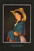 Eine Schöne Nuernbergerin (nach Einem Gemälde Von Johann Friedrich Karl Kreul / Druck, Entnommen Aus Zeitschrift /1942 - Bücher, Zeitschriften, Comics