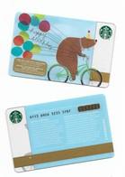 Starbucks Card - Canada - Happy Birthday - 6113 Mint Pin - Gift Cards