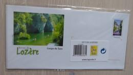 Lot De 5 Enveloppes Prêt à Poster Illustrées - LOZERE - Other