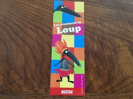 Marque Page Ed Auzou Loup - Bookmarks