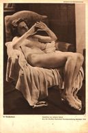 In Gedanken (nach Einem Gemälde Von Johann Schult)   / Druck, Entnommen Aus Zeitschrift /1942 - Livres, BD, Revues