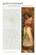 Josef Engelhart - Maler Des Wiener Volkes  / Artikel, Entnommen Aus Zeitschrift /1942 - Bücher, Zeitschriften, Comics