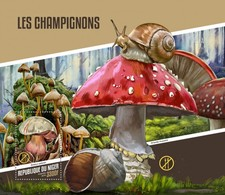 NIGER 2018      Mushroom S201804 - Niger (1960-...)