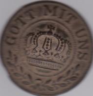 Insigne De Boucle De Ceinturon Allemand :GOTT MIT UNS (Dieu Est Avec Nous)objet De Fouille Dans Son Jus - 1914-18