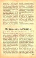 Die Sonnen Des Mikrokosmos (leuchtende Bakterien)  / Artikel, Entnommen Aus Zeitschrift /1942 - Livres, BD, Revues