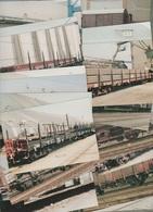 1 TRAIN - Vend Collection - Photographie - Train - Wagons - LOT 22 VUES - Réf Série 11 - Trains