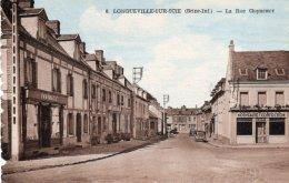 CPA OU CPSM ?    76   LONGUEVILLE-SUR SCIE---LA RUE GUYNEMER - Frankrijk