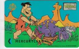 Mercury, MEF001, Fred & Dino Gardening, Unused, 2 Scans   49MERONEA - United Kingdom
