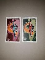PA  N° 130 Et 131      Europafrique 1970  -  Dahomey  -  Neufs - Benin – Dahomey (1960-...)