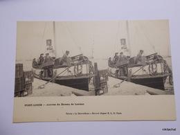 PORT LOUIS-Arrivée Du Bateau De Lorient-Carte Stereoscopique ELD - Port Louis