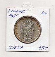 Svezia - 1956 - 2 Corone - Argento - Vedi Foto - (MW1270) - Svezia