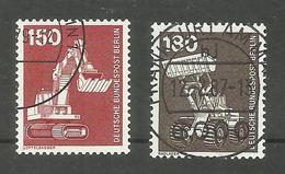 Berlin N°558, 559 Cote 4.50 Euros - Used Stamps