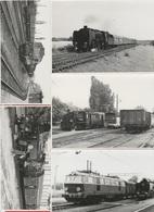 1 Train - Vend Ma Collection - Locomotive - LOCO FOTO - POLOGNE  - 148X105 - Lot Divers - 5 Vues - Trains