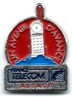 FT24 - UN AVENIR D'AVANCE - ALSACE - Verso : SM - France Telecom