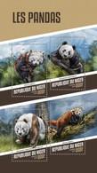 NIGER 2018  Pandas   S201804 - Niger (1960-...)