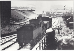 A Freight Train From Bacup Approaching Rawtenstall In February 1955. Loco Lancashire & Yorkshire 0-6-0-. - (England) - Eisenbahnen
