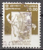 SRI LANKA    SCOTT NO.  1249    USED    YEAR  1999 - Sri Lanka (Ceylon) (1948-...)
