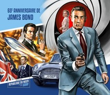 NIGER 2018   James Bond  S201804 - Niger (1960-...)