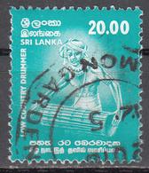 SRI LANKA    SCOTT NO.  1360    USED    YEAR  2001 - Sri Lanka (Ceylon) (1948-...)