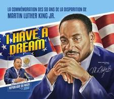 NIGER 2018  Martin Luther King Jr.   S201804 - Niger (1960-...)