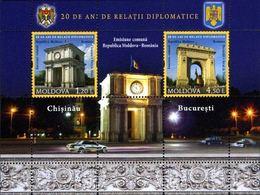 Moldavie 2011 - Emission Comun Moldavie-Roumanie Bloc Neuf (d) - Moldavie