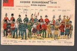 Guerre Euopéenne 1914, Armée Anglaise  (PPP12519) - Guerre 1914-18