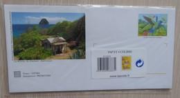 Lot De 4 Enveloppes Prêt à Poster Illustrées + Cartes - COLIBRI (Martinique) - Other