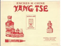 Buvard Encres De Chine Yang Tse - Stationeries (flat Articles)