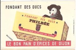 Buvard Pain D'Epices Philbée Dijon Côte D'Or 21 - Gingerbread