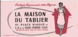 Buvard La Maison Du Tablier Place Rihour Rue De La Vieille Comédie Lille 59 Nord - Gingerbread
