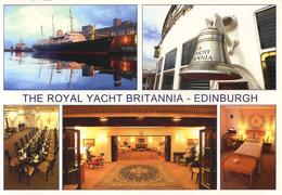 SHIPPING -  THE ROYAL YACHT BRITANNIA At EDINBURGH OS21 - Ships