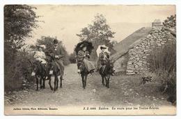 CPA Neuve - Salève - En Route Pour Les Treize-Arbres - Autres Communes