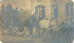 Gosselies. 1899. Photo Carte écrite Par Mme La Baronne De Crawhez à Son Cousin. Malle Poste. 3 Scans. - Charleroi