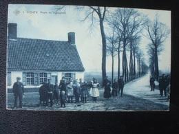 VICHTE : Route De   INGOYGHEM In  1911 - Anzegem