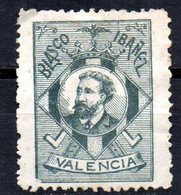 Viñeta Blasco Ibañez Valencia - Spanien