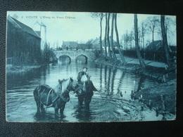VICHTE : L'étang Du Vieux Château In  1911 - Anzegem