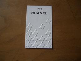 Carte Chanel N°5 Australienne - Perfume Cards
