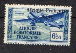 A E F ( AERIEN ) : Y&T  N°  18  TIMBRE  NEUF  AVEC  TRACE  DE  CHARNIERE , A  VOIR . - A.E.F. (1936-1958)