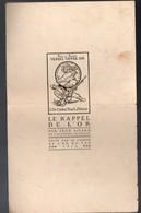 Plaquette VERSEZ VOTRE OR Avec Texte De Jean Aicard  (PPP12523) - 1914-18
