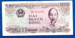 VIETNAM / 2000 Dong 1988 / Pick 107 / TTB - Viêt-Nam