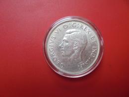 CANADA 1$ 1937 ARGENT QUALITE SUP/FDC !!! - Canada