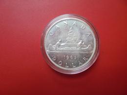 CANADA 1$ 1963 ARGENT QUALITE SUP/FDC !!! - Canada