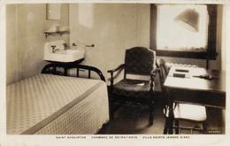 CARTE PHOTO ,CANADA,QUEBEC,1945,saint Hyacinte,chambre De Retraitante,villa Sainte Jeanne D'arc,montérégie,rare - St. Hyacinthe