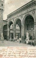 ITALY - Firenze - Logia Dell'Orgagna -  1905 Undivided Rea - VG Postmarks - Firenze