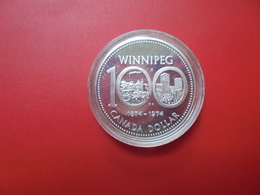CANADA 1$ 1974 ARGENT QUALITE SUP/FDC !!! - Canada