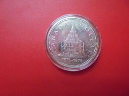 CANADA 1$ 1976 ARGENT QUALITE SUP/FDC !!! - Canada