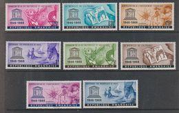 Rwanda 1966 Unesco 8v ** Mnh (38242A) - 1962-69: Mint/hinged