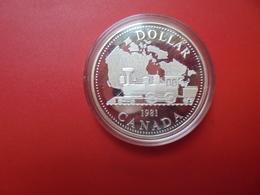 """CANADA 1$ 1981 ARGENT QUALITE """"PROOF"""" - Canada"""